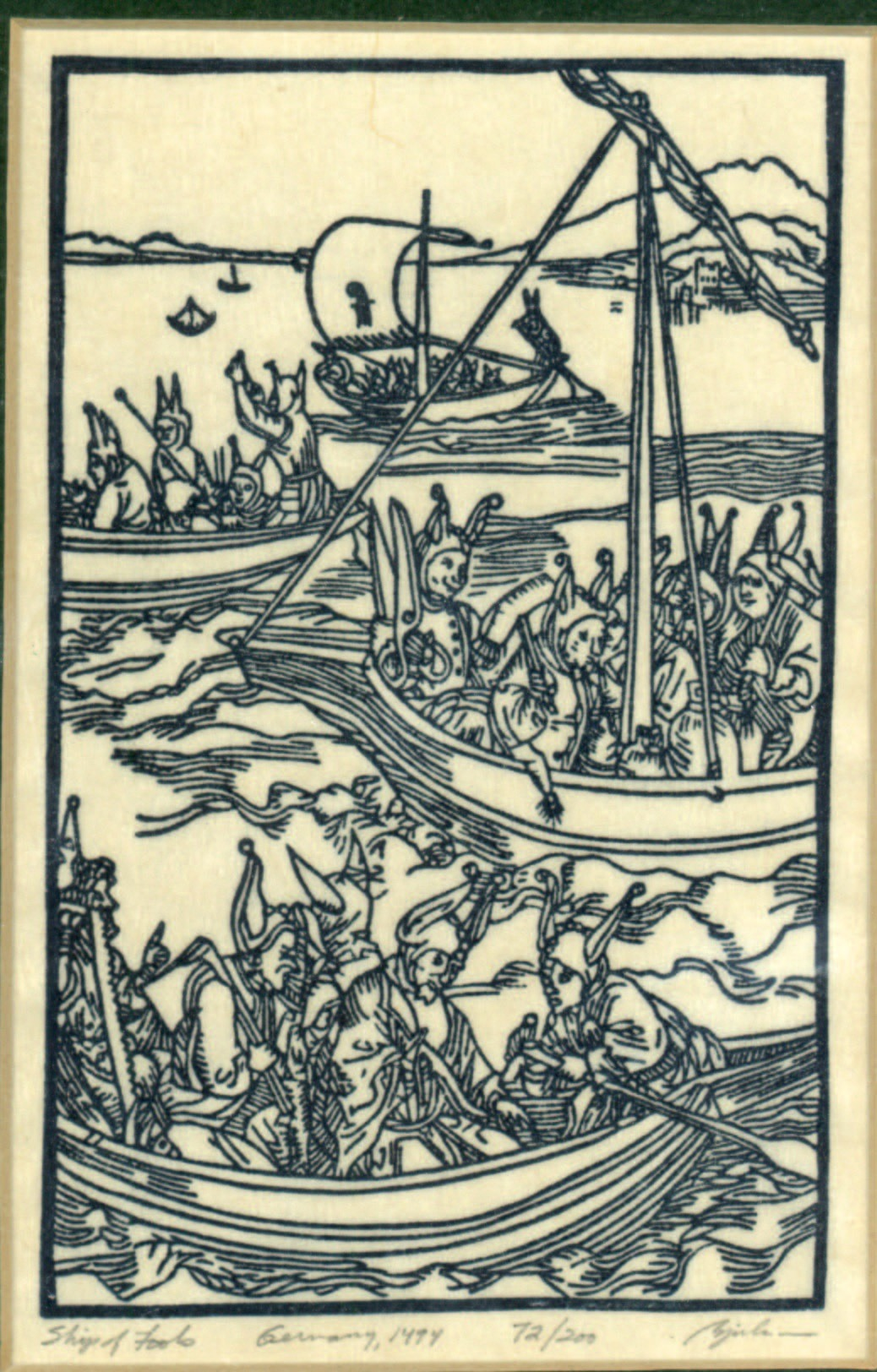 Albrecht Dürer, Ship of Fools, 1494