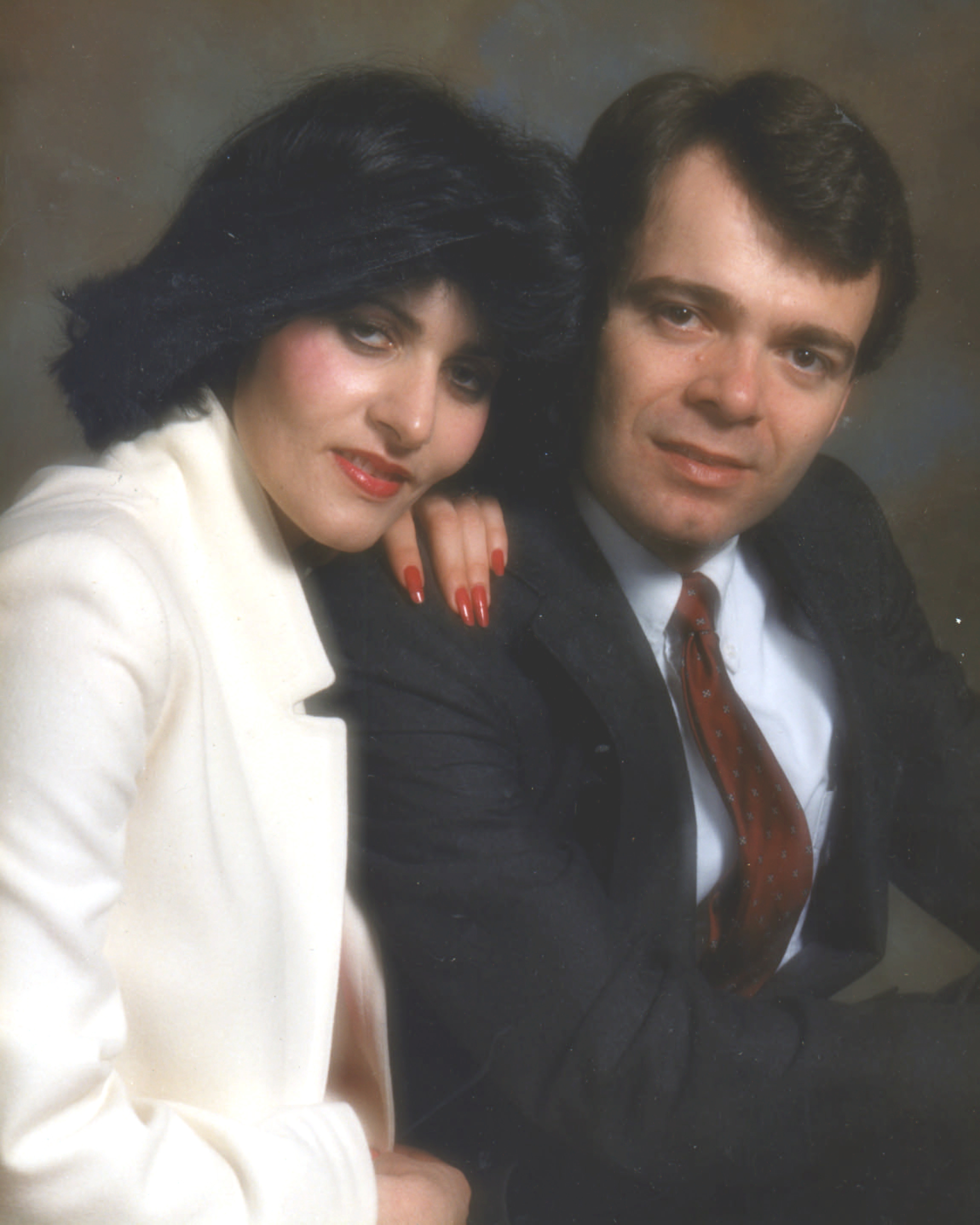 Maryam and Stephen Hiemstra, 1984