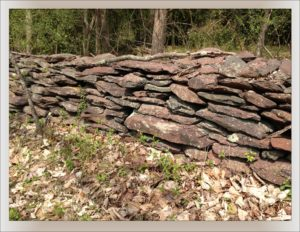 Stone Fence, Photograph by Stephen W. Hiemstra